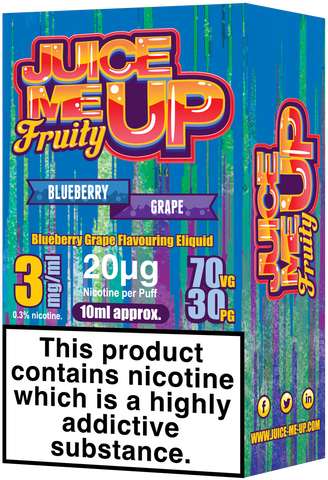 Blueberry Grape E Liquid by Juice Me Up