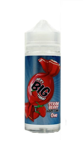 Next Big Thing Strawberry Hard Candy E-Liquid 120ml Short Fill