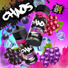 Chaos Grape Mayhem E Liquid By Chaos