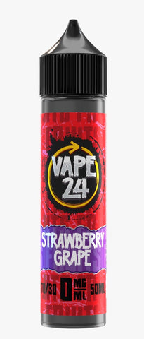 Strawberry Grape Fruits E Liquid By Vape 24