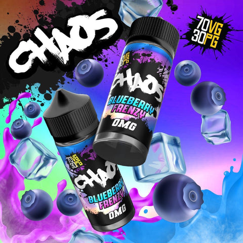 Chaos Blueberry Frenzy E Liquid By Chaos