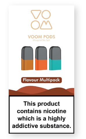 Flavour Multipack Voom Pod E Liquid Replacement