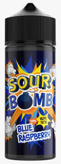 Blue Raspberry E Liquid by Sour Bomb