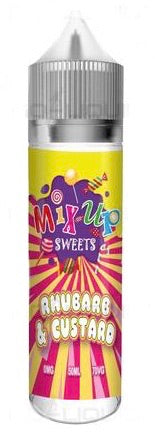 Rhubarb and Custard E Liquid By Mix Up Sweets