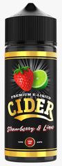 Strawberry & Lime E Liquid by Cider