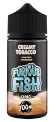 Creamy Tobacco E Liquid by Furious Fish 100ml