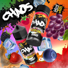 Chaos Berry Bedlam E Liquid By Chaos