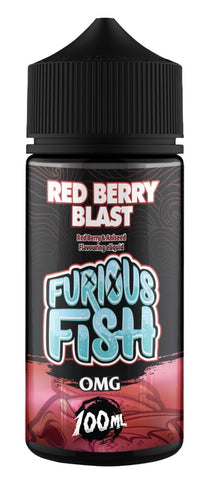 Red Berry Blast E Liquid by Furious Fish 100ml