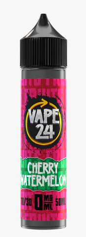 Cherry Watermelon E Liquid By Vape 24