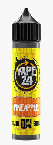 Pineapple E Liquid By Vape 24