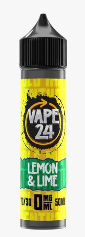Lemon & Lime E Liquid By Vape 24