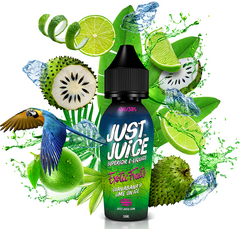 Exotic Fruits Guanabana & Lime on Ice E Liquid by Just Juice