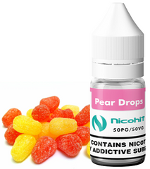 Pear Drops E-Liquid by Nicohit