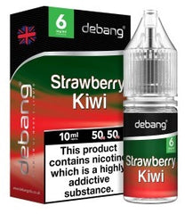 De-Bang Strawberry Kiwi E-Liquid Flavour