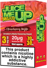 Strawberry Mojito E Liquid by Juice Me Up
