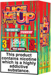 Watermelon Strawberry E Liquid by Juice Me Up
