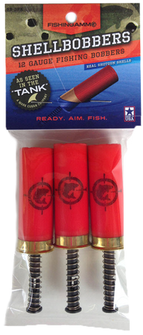 ShellBobbers - Original 12 Gauge 3-pack