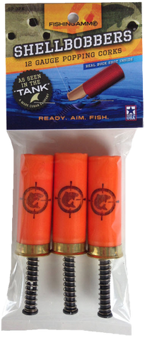 Shell Bobbers - 12 Gauge Popping Corks