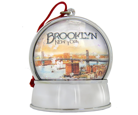 Brooklyn Cirque Snowglobe Ornament