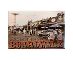 * Coney Island Boardwalk Magnet