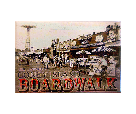 Coney Island Boardwalk Magnet