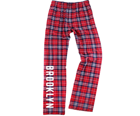 Red Plaid Kids Brooklyn Pajama Pants