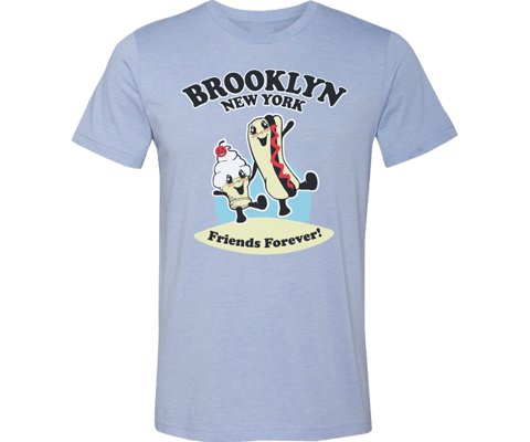Brooklyn Friends Forever Adult Tee