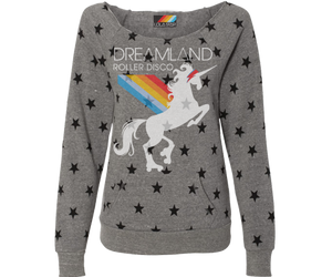 Load image into Gallery viewer, Dreamland Roller Disco Star Pullover