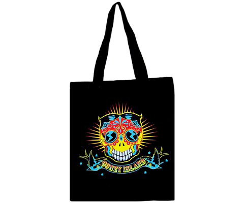 Day of the Coney Canvas Tote
