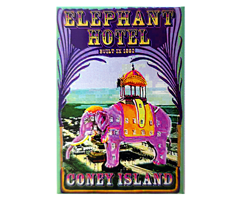 The Elephant Hotel Magnet