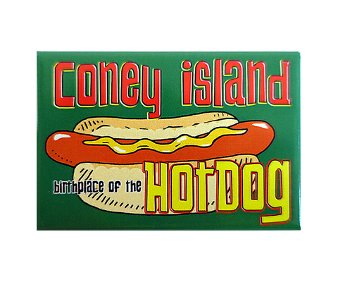 Birthplace of the Hot Dog Magnet