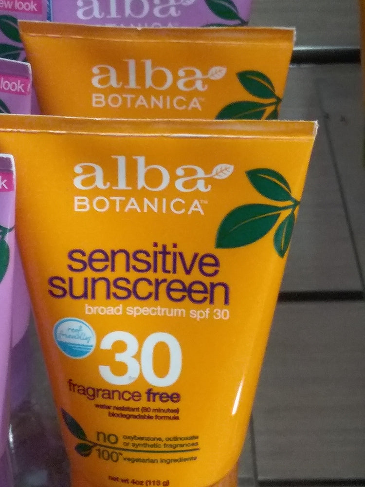 Alba Sensitive Sunscreen