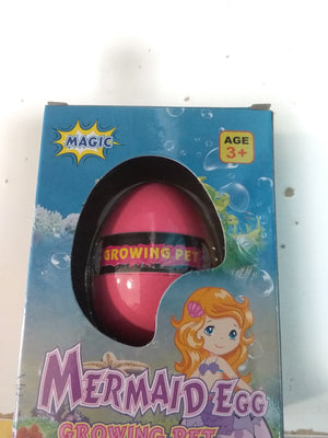 Mermaid Egg Growing Pet