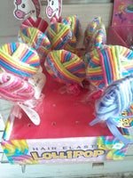 Lollipop hair ties