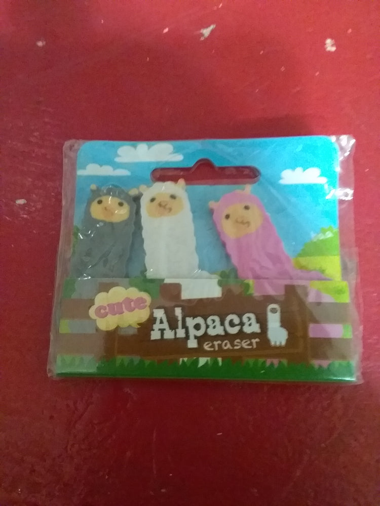 Load image into Gallery viewer, Alpaca erasers