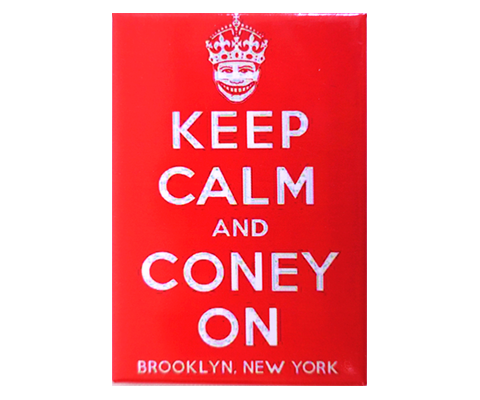 Keep Calm and Coney On Magnet