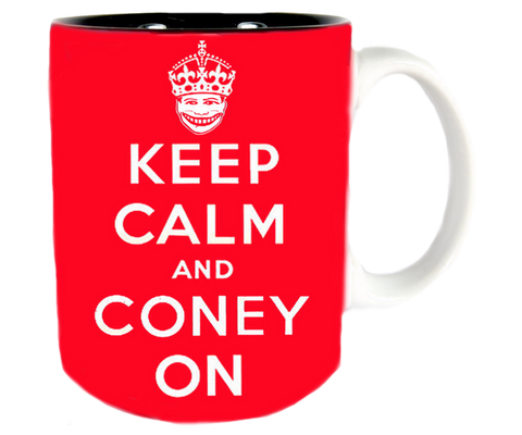 Keep Calm and Coney On Mug