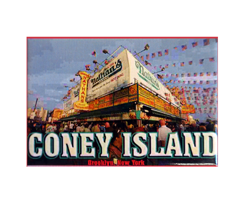 Nathan's Coney Island Magnet