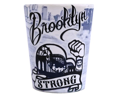 Brooklyn Strong Shot Glass