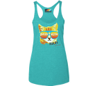 Brooklyn Rad Cat Aqua Racer Tank