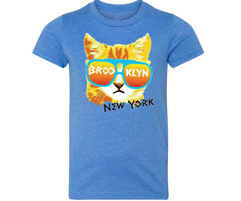 Brooklyn Rad Cat Youth Tee