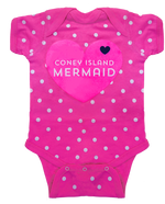 Coney Island Mermaid Heart Onesie