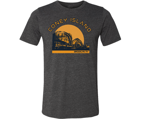Cyclone Sunset Adult Tee