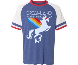 Dreamland Tricolor Retro Jersey Adult Tee