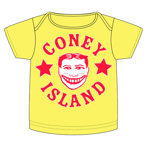 Coney Island Tillie Funny Face in Yellow
