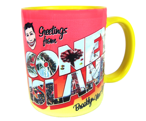 Greetings from Coney Island Mug