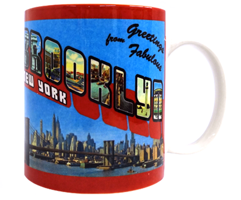Greetings from Fabulous Brooklyn Mug
