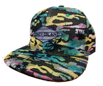 Coney Island Aqua Digital Tropical Surfer Hat