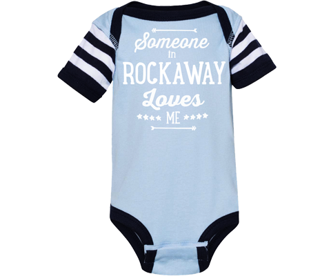 Rockaway onesie, adorable whale design on a navy blue onesie with white polka dots, handmade gifts made for kids made in Brooklyn NY