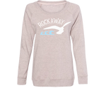 Rockaway Seagull Wave Wash Fleece Crew Neck
